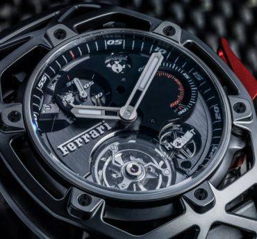 Hublot Presents Techframe Ferrari 70 Years Tourbillon Chronograph at Baselworld 2017