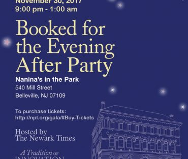 "Newark Public Library ""Booked For The Evening"" Gala Afterparty"