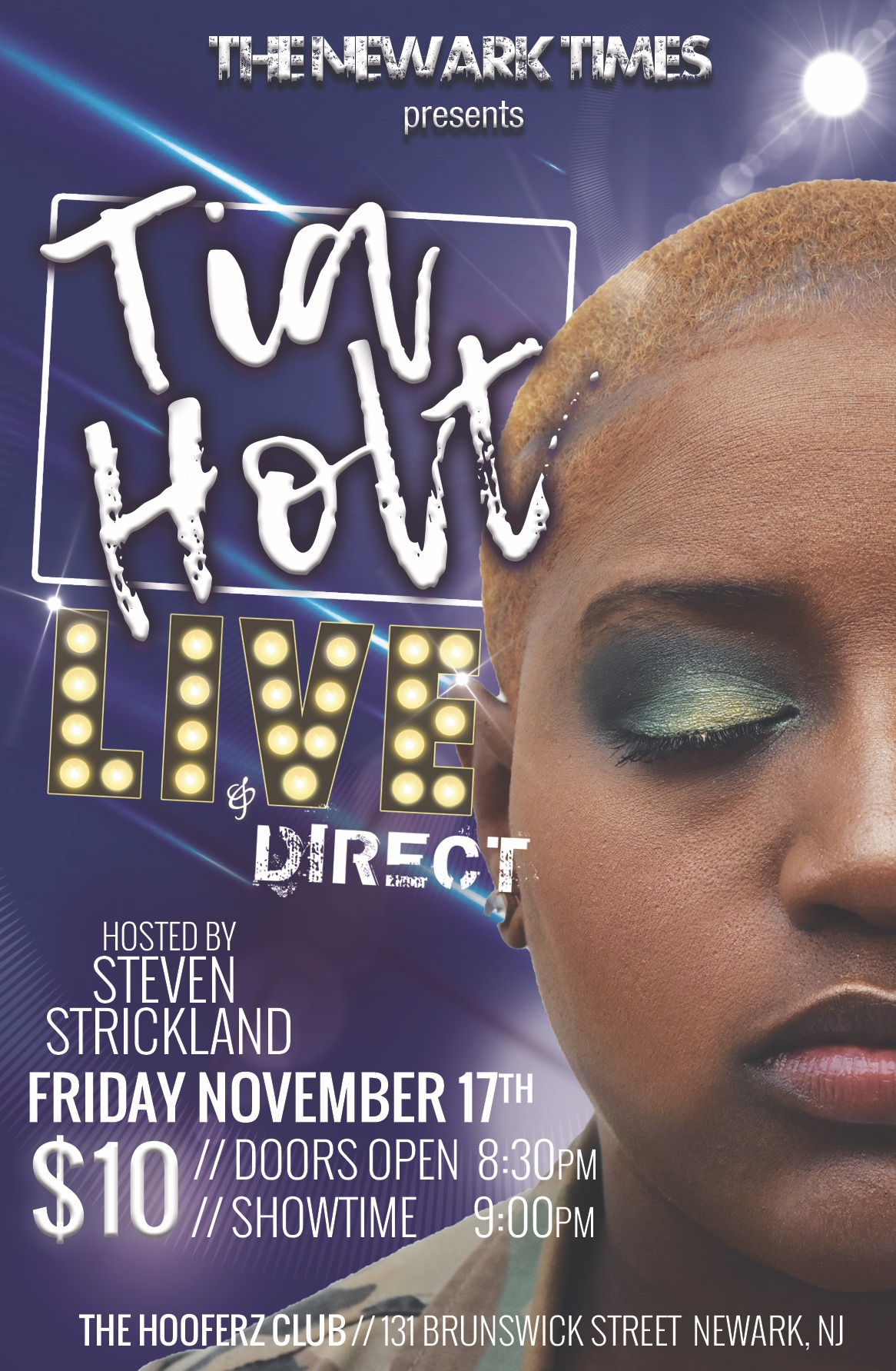 The Newark Times Presents: Tia Holt | LIVE & Direct